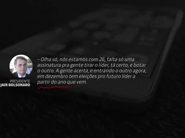 Vaza áudio de Bolsonaro conspirando contra líder do PSL; caso tem reviravolta