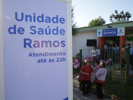 UBS Ramos é reaberta com horário ampliado, na Zona Norte
