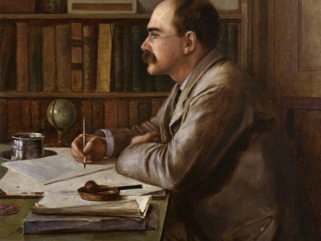 O escritor no museu: Rudyard Kipling