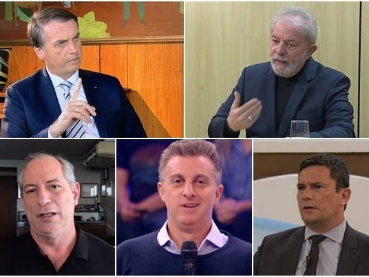 Bolsonaro e Lula polarizam disputa para 2022, revela nova pesquisa CNT/MDA