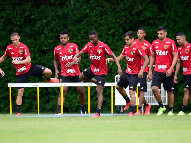 Confira fotos do treino do São Paulo