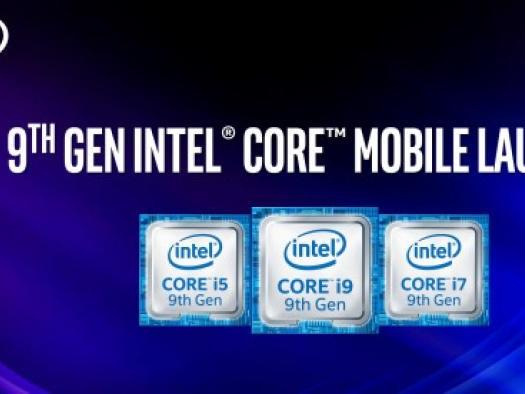 Intel lança 9ª geração de processadore Core mobile e expande linha para laptops