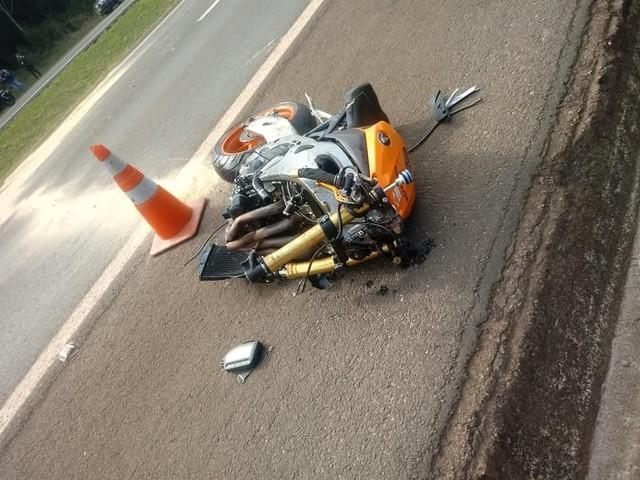 Motociclista morre após perder o controle do veículo na SP-344 em São João da Boa Vista