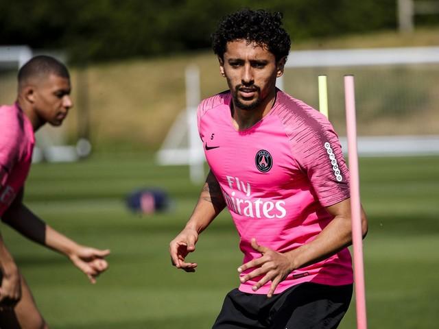 Veja fotos do treino desta sexta do Paris Saint-Germain