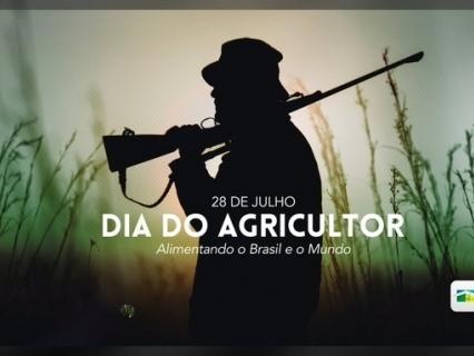 Governo faz propaganda de homem rural armado no Dia do Agricultor