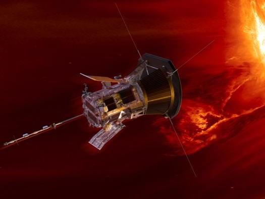 Sonda da NASA está cada vez mais perto do Sol e já proporciona descobertas