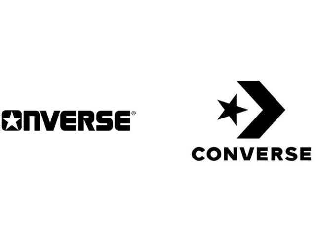 Converse liberta estrela e muda seu logo