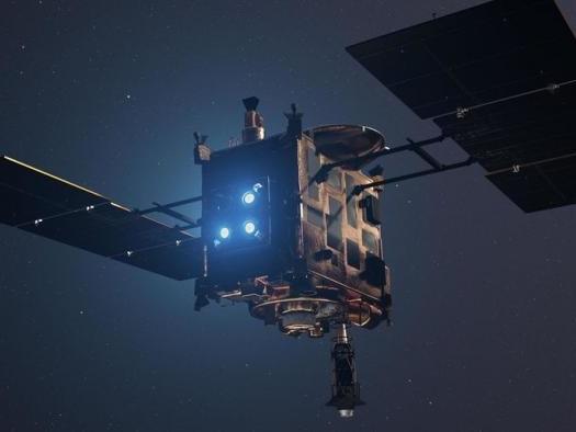 Nave japonesa pousa com sucesso no asteroide Ryugu e coletará amostras