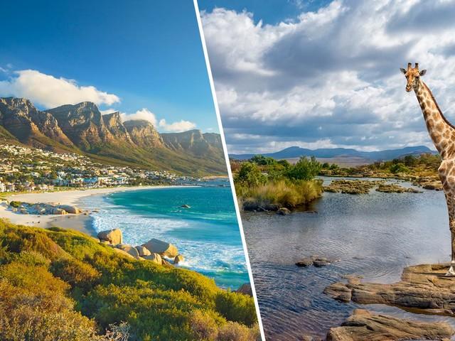 África do Sul 2 em 1! Passagens para Joanesburgo mais Cidade do Cabo na mesma viagem a partir de R$ 1.726!