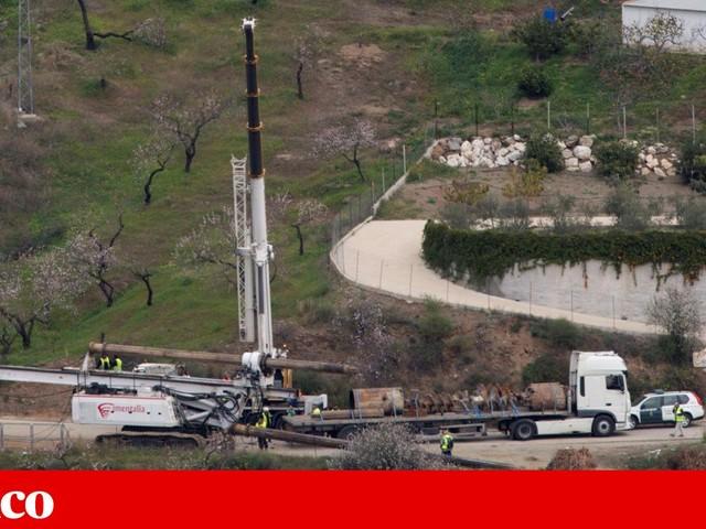 """Resgate do bebé em Málaga: """"Túnel demorará entre 15 a 20 horas, em condições normais"""""""