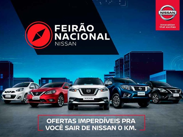 Nissan oferta toda a linha com taxa zero