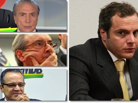 Funaro: Temer, Cunha e Henrique Alves receberam R$ 250 milhões da Caixa