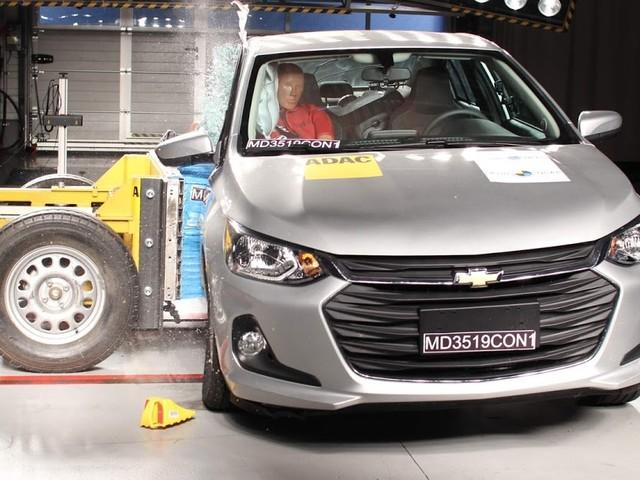 New Chevrolet Onix Plus 2020 obtém 5 estrelas - Latin NCAP