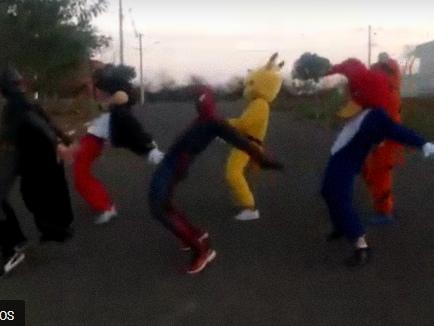 Trenzinho da Alegria dançando SUA CARA – Melhor vídeo do ano