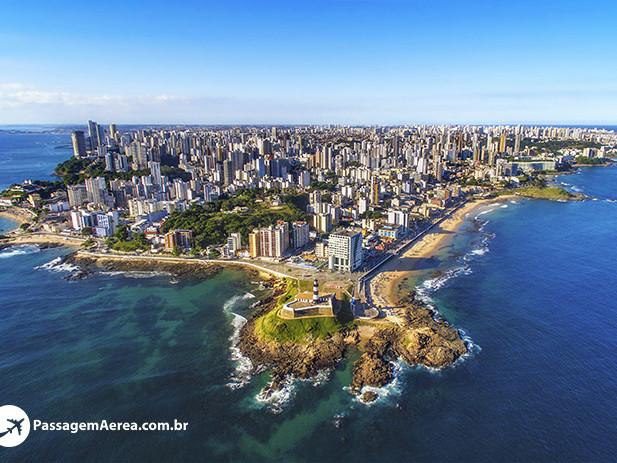 Salvador, a terra da alegria e de lindas praias