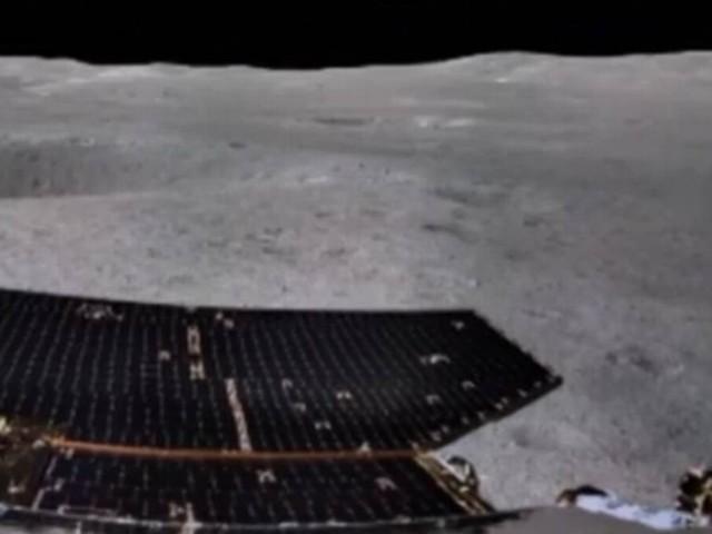 China divulga primeira foto panorâmica já feita no 'lado escuro' da Lua