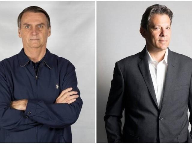 Datafolha: Bolsonaro tem 59% dos votos válidos, e Haddad, 41%