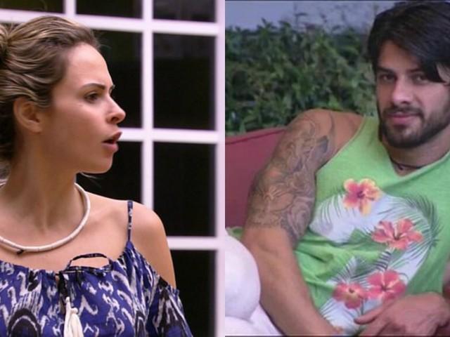 """Ana Paula Renault ataca Renan, seu inimigo do BBB16 e dá lição de moral: """"Aprenda, fofa!"""""""