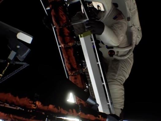 Nova demo da Nvidia mostra como seria o pouso na Lua se fosse capturado hoje