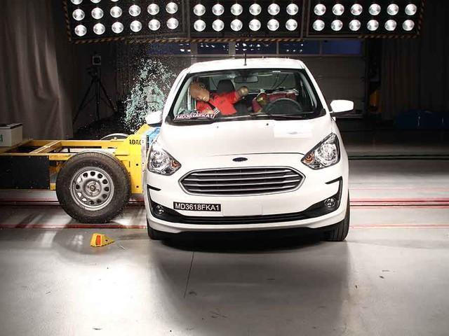 Latin NCAP: Ford Ka 2019 conquista três estrelas na proteção aos adultos