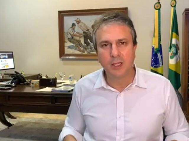 """""""Já estamos avaliando a prorrogação do decreto para as pessoas ficarem em casa"""", diz Camilo"""