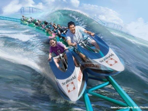Sea World San Antonio vai inaugurar nova montanha-russa