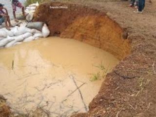 UBAJARA-CE: O reservatório Granjeiro está na iminência de romper! Veja o vídeo