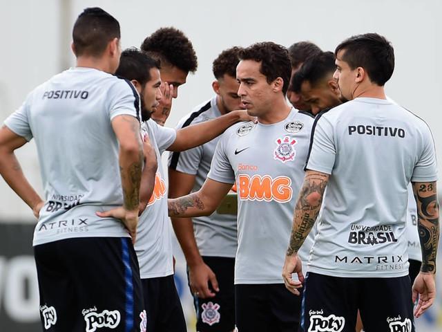 Veja fotos do treino do Corinthians