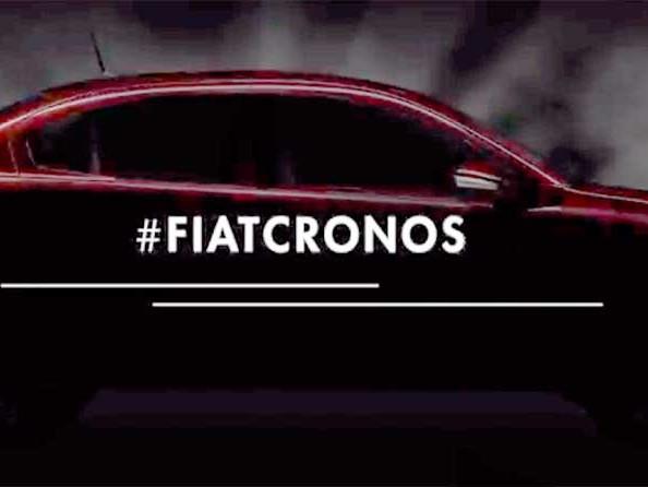 Fiat Cronos tem detalhes revelados em primeiro teaser