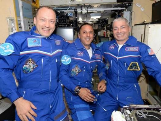 Estação Espacial Internacional recebe 3 astronautas em nova fase de pesquisa