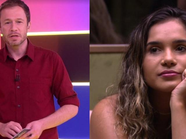 """BBB20: Tiago Leifert dá bronca em brothers após desistência de sister: """"Um milhão querendo entrar"""""""
