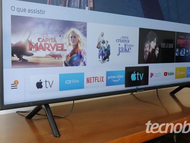 TV 4K Samsung RU7100: o básico ficou mais completo