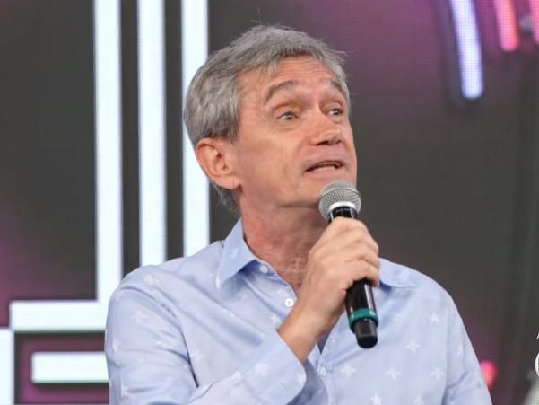 """Serginho Groisman faz desabafo sobre o Brasil no Faustão: """"Muito conturbado e difícil"""""""