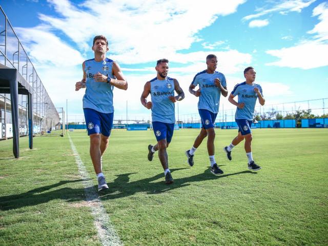 Grêmio retoma os treinamentos com foco na parte física