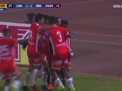 Goleiro faz gol de empate no último minuto no Peru; assista