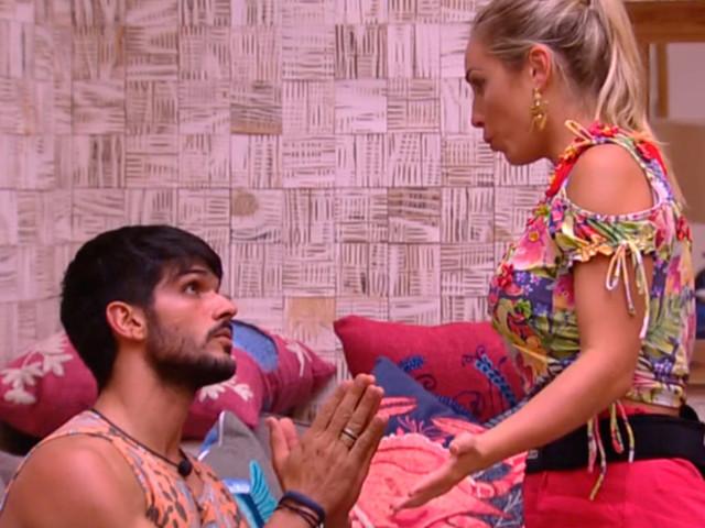 Affair de Jessica critica postura de Lucas: 'Está usando ela no jogo'