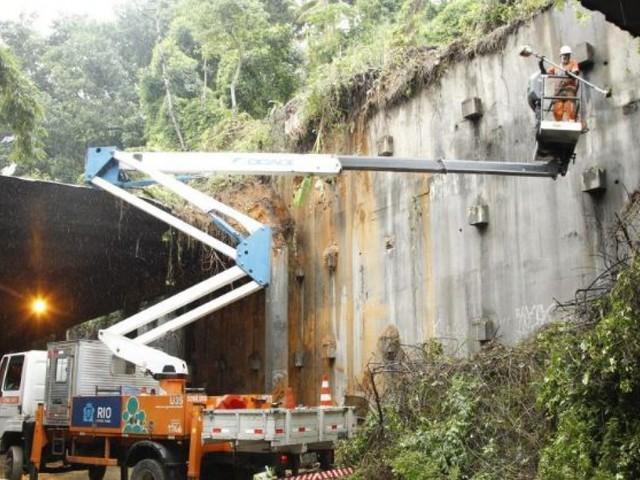Túnel Acústico pode ter liberação parcial na noite deste sábado, diz prefeitura do Rio