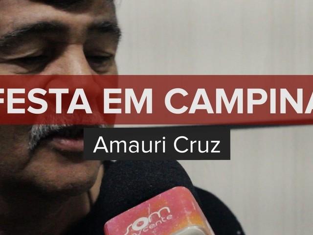 Amauri Cruz lança música em homenagem ao São João de Campina Grande no Som Nascente
