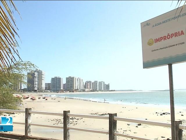 Todas as praias de São Luís estão impróprias para o banho, diz Sema