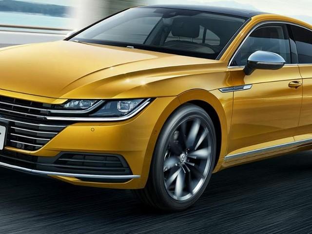 Novo Volkswagen CC 2018 é lançado no Salão de Pequim