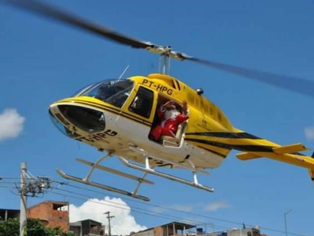 Piloto de helicóptero morto com Boechat fazia eventos com Papai Noel no interior de SP