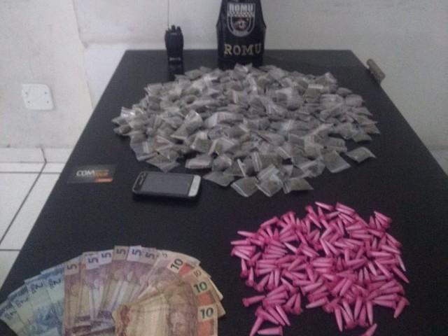 Jovem é preso com porções de drogas em Sorocaba