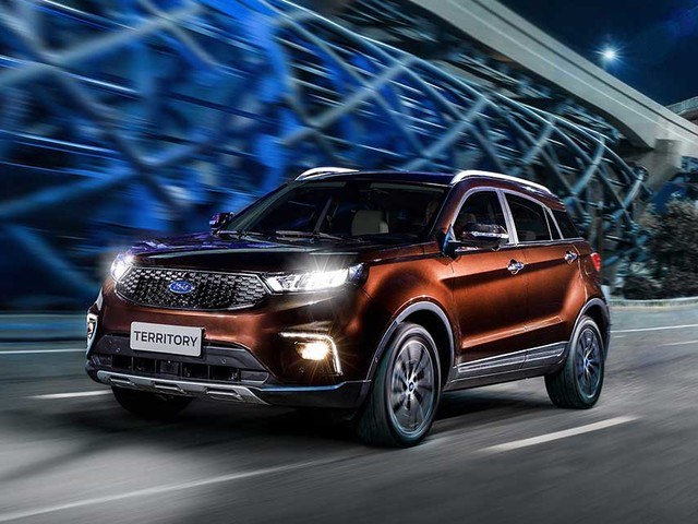 [Futuro lançamento] Ford mostrará SUV Territory no Rock in Rio