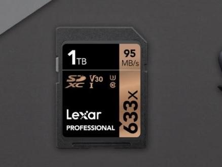 A Lexar criou um cartão SD com 1 TB de espaço