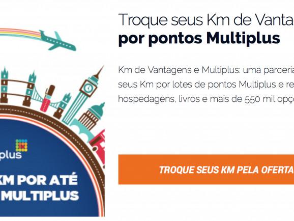 KM de Vantagens está transferindo para Multiplus quase que instantâneo