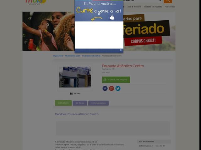 Pousada Atlântico Centro - Fortaleza - CE