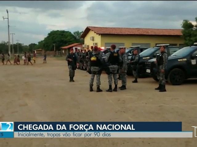 Após duplo assassinato, Força Nacional chega à Terra Indígena Cana Brava, no Maranhão