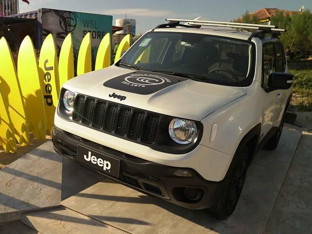 Jeep lança série limitada Renegade WSL por R$ 99.590