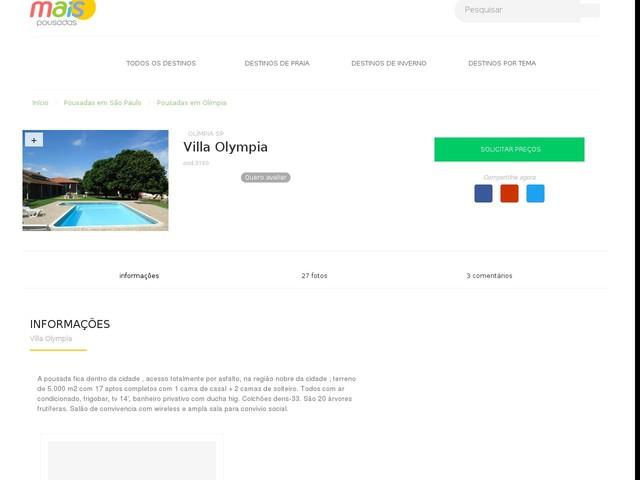 Villa Olympia - Olímpia - SP