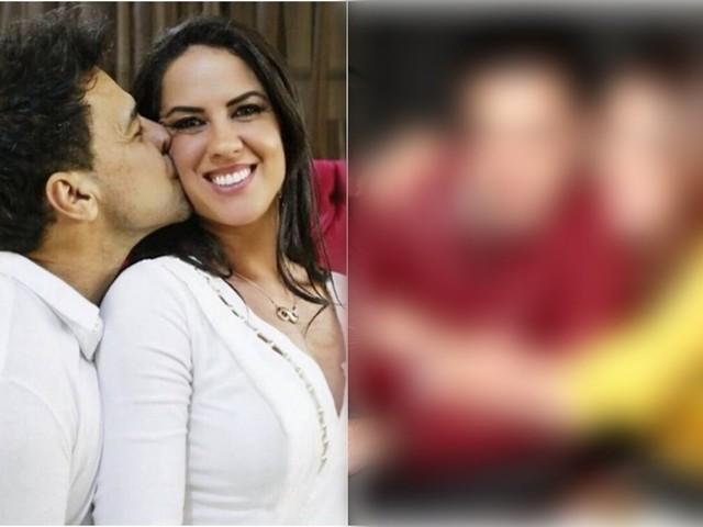 """Noivo de Graciele, Zezé se declara à outra mulher e público enaltece: """"Amor maior"""""""